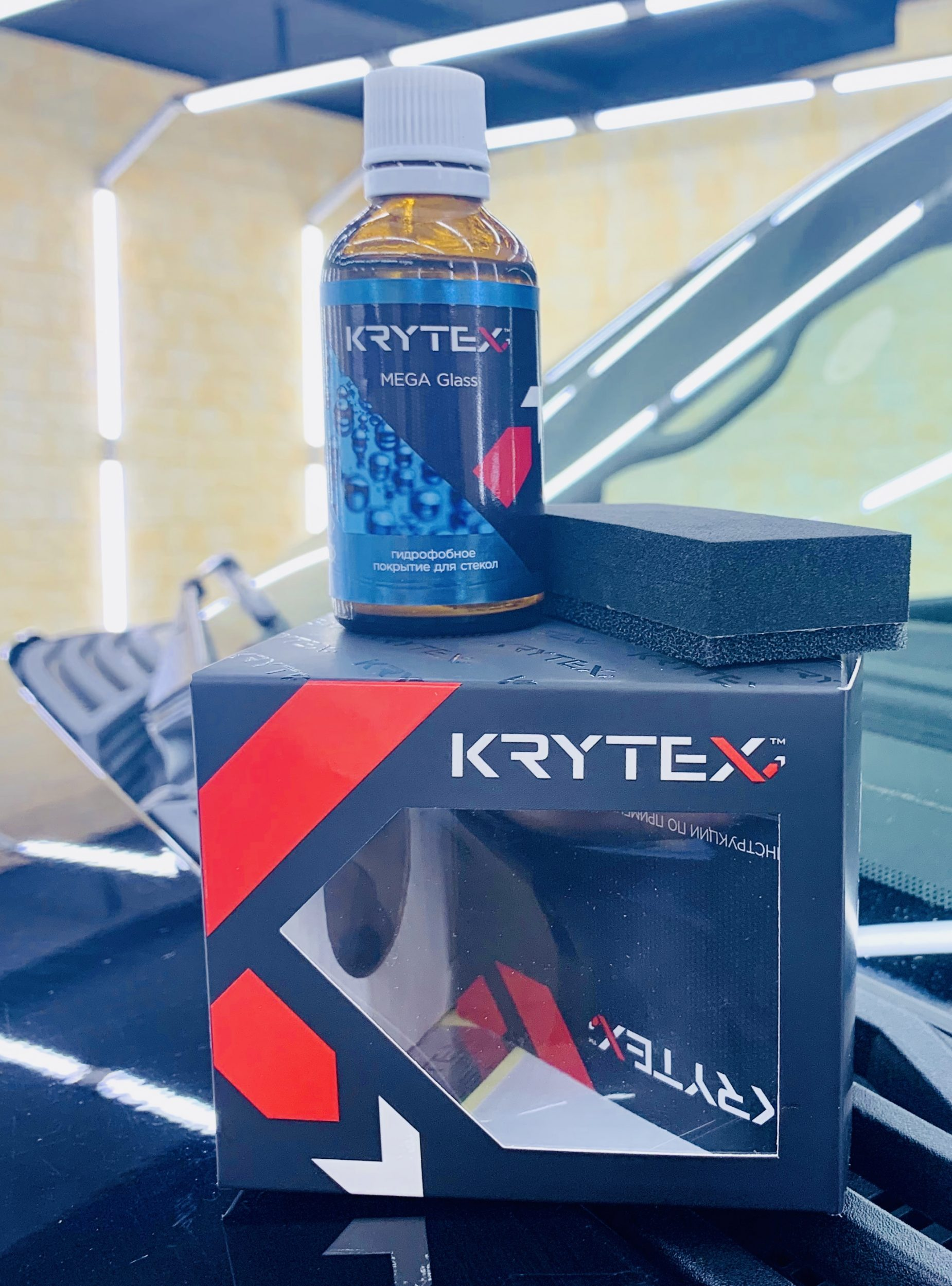 Гидрофобное покрытие от Krytex