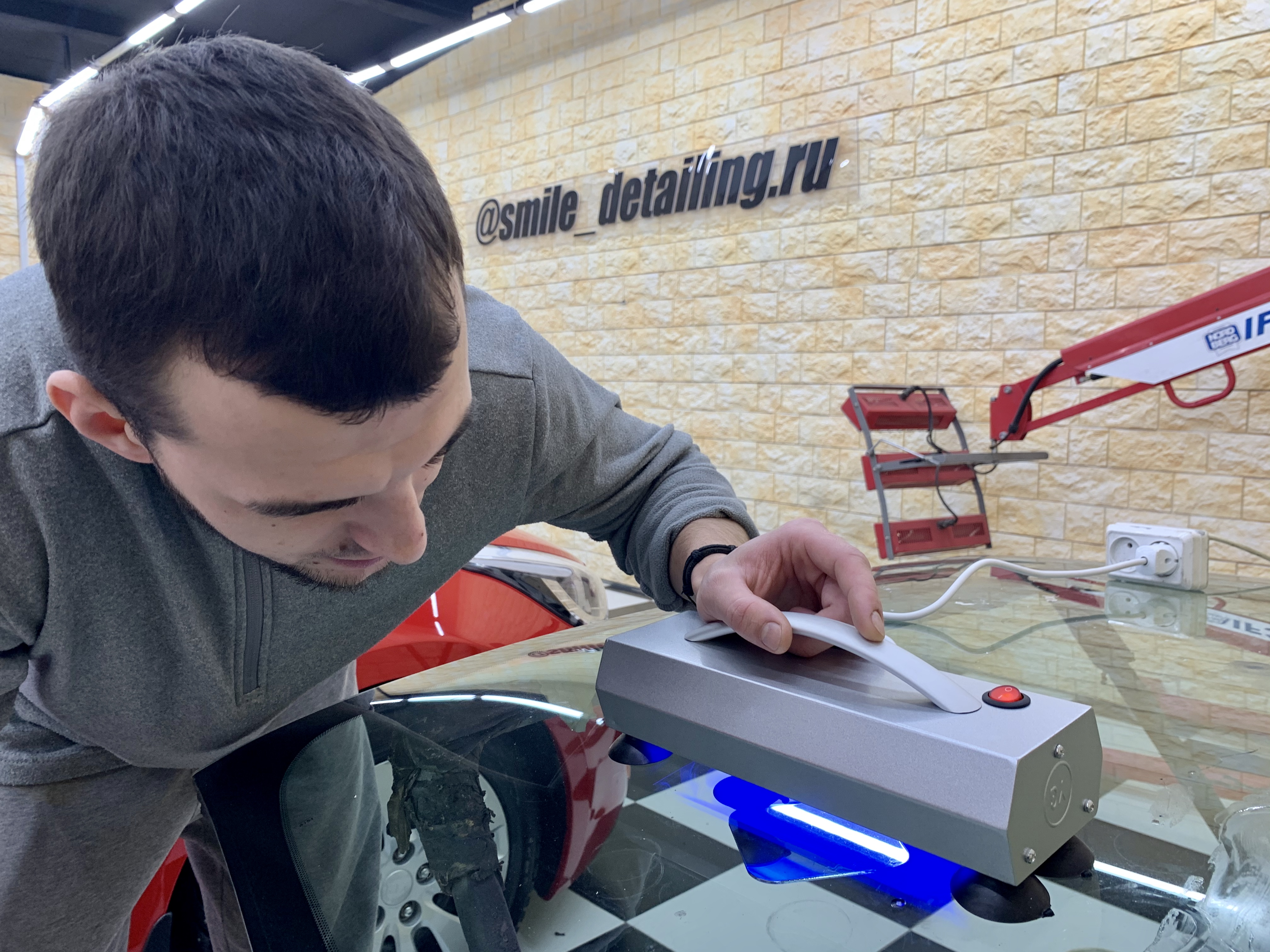ремонт лобового стекла